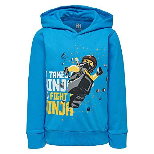 LEGO Jungen Sweatshirt Boy NINJAGO-CM-50120-SWEATSHIRT, Blau (Blue 537), ()