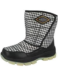 Boys Girls Kids Snow Boots Waterproof Thermal Wellingtons Fur Winter e369ac79415