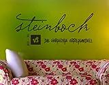 universumsum Wandtattoo Sternzeichen Steinbock Dunkelbeige 70 x 29 cm wal143-70-092 Wandaufkleber Wandsticker Wandtattoo Wohnzimmer Schlafzimmer Selbstklebend