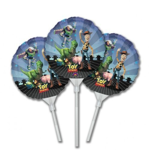 Toy Story Gang EZ-Fill Foil Air Fill Balloons, pack of 3