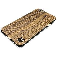 iPhone 6 Plus / 6s Plus Funda cover de madera ** 100% ECO madera genuina ** Ultra delgada ** Ajuste perfecto ** Wood-case de UTECTION ® Nogal / Nuez