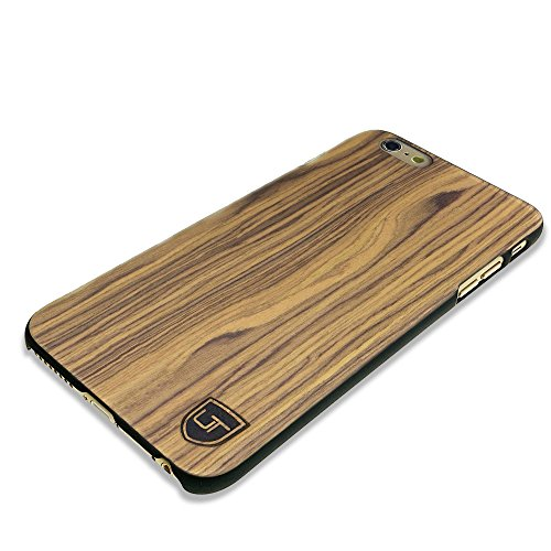 iPhone 6 Plus / 6s Plus Holzhülle Cover ** Eco Echt Holz - Ultra-Slim ** Einzigartiges Desgin ** Perfekte Passgenauigkeit ** Woodcase by UTECTION® in Walnussholz (Iphone 4 Body Armor Hybrid Case)