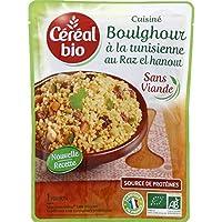 Céréal Bio - Boulghour à la tunisienne, cuisiné au raz-el-hanout, certifié AB - Le sachet de 220g - Pirx Unitaire...