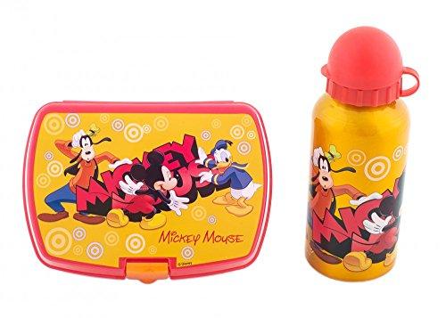 Set cantimplora y sandwichera Mickey Disney