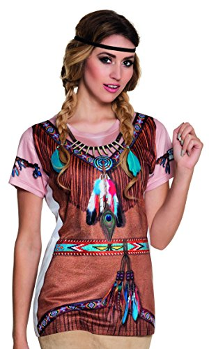 Fotorealistisches Shirt Indian -