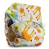 LittleBloom Bébé Tissu Couche Couches Lavables Poches Réutilisable BAMBOU, Fixation: POPPER, Modèle 27, Avec 1 Fibre De Bambou Insère