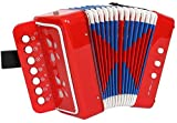 Acordeon enfant 7 touches et 2 basses (Import 12003)