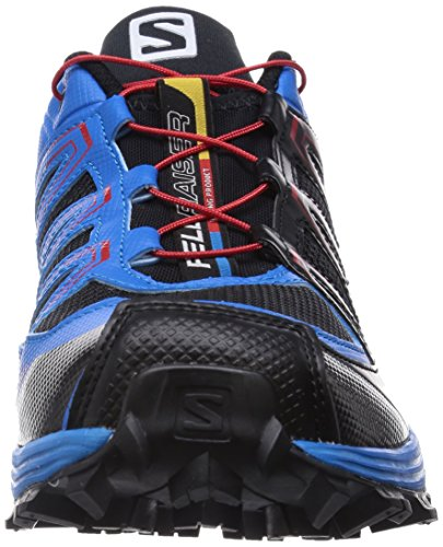 Salomon Herren Fellraiser Traillaufschuhe Blau (Black/Methyl Blue/Quick)