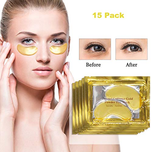Eye Care Mask Eye Pads 24K Gold ...