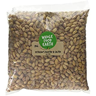 Wholefood Earth Roasted and Salted Pistachio's, 2 kg