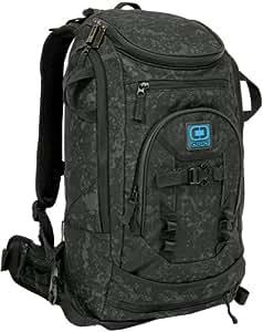 Ogio Patrol Snow Backpack Splatter Paint Black