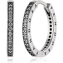 Pandora 290558CZ - Pendientes de plata con circonita