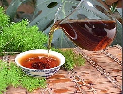 1050 grammes Pu erh brique de thé noir fermenté mini Tuocha dans l'emballage de sac