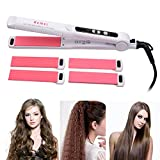 Haar Lockenwickler, CkeyiN 3 in 1 Haar Strecker Mais Hot Styling Tool Set