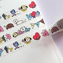 BTS BT21 Line Friends Sticker Tape and B (10m tape)