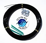 Monofilament Fishing Leader Kit 100yds 2.0mm-400lb Black With Loop protectors crimps by Catch All Tackle
