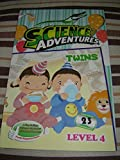 Twins - Science Adventures Level 4 Issue 23 / Full Color Science Comic Magazine for Children / Printed in Singapore / English Corner of SA and Young Readers Express / Engaging Reading for Children Age 11-14 / Self Study