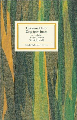Buchseite und Rezensionen zu 'Wege nach innen: 25 Gedichte (Insel-Bücherei)' von Hermann Hesse