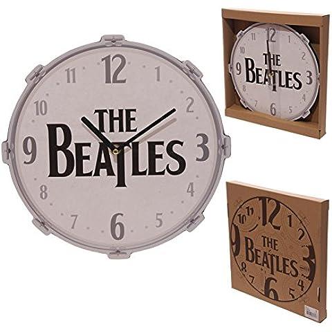 Orologio da parete Funky Beatles, Design a tamburo PDS