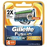 Gillette Fusion Men's ProGlide Power Razor Blades – 4 Blades