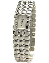 Racer RY20765-1 - Reloj de Señora movimiento de quarzo con brazalete metálico plata / crudo