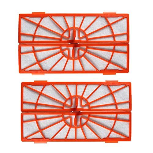 Handheld-ersatz-filter (KingBra Hepa-Filter Staubsauger Zubehör-Set 6 Stück Ersatz Hepa-Filter kompatibel für Neato BotVac Serie BotVac D Serie D80 D85 Botvac Connected D3 D5 Staubsauger Teilnummer 945-0122 4pcs)