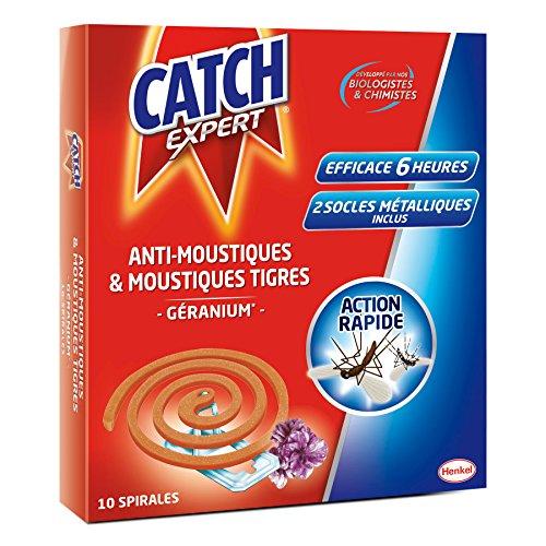Catch - Anti-Moustiques & Moustiques Tigres - Parfum...