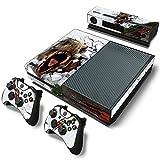 46 North Design Xbox One Pegatinas De La Consola T-Rex + 2 Pegatinas...