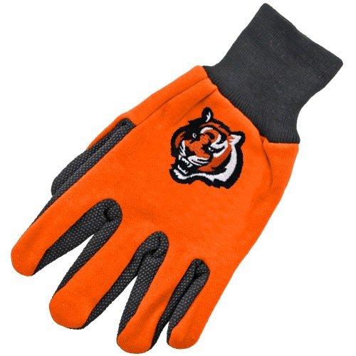 NFL Cincinnati Bengals Handschuhe zweifarbig