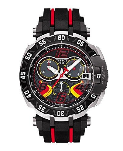 TISSOT T-RACE HERREN-ARMBANDUHR 45MM ARMBAND KAUTSCHUK QUARZ T0924172705702 (Tissot Armband T-race)