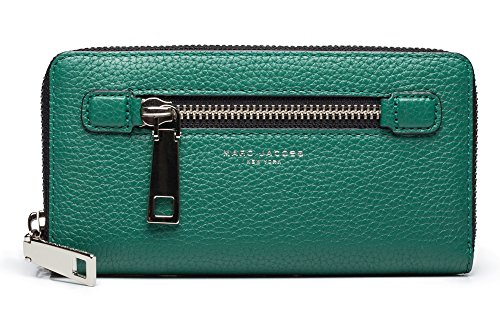 Marc-Jacobs-Womens-Leather-Gotham-Continental-Wallet-Green