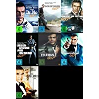 James Bond 007 SEAN CONNERY komplette Edition 7 DVD Collection