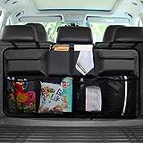 Organizador para maletero de coche, bolsa de almacenamiento para asiento trasero de coches con Oxford