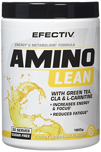 Efectiv Sports Nutrition Amino Lean Shakes, 180 g, Cloudy Lemonade