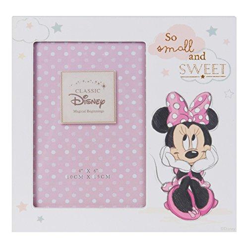 Disney DI409 - MDF-Bilderrahmen mit Minnie Maus, 10 x 15 cm