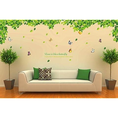 Bestgrew® serie da giardino XL, colore: verde foglie verdi e