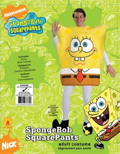 Imagen de rubie 's oficial adultos de bob esponja cuadrado pantalones disfraz–un tamaño alternativa