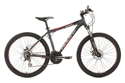 KS CYCLING RAVENNA DE ADORE   BICICLETA DE MONTAÑA ENDURO  COLOR NEGRO  RUEDAS 26  CUADRO 46 CM