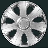 "13"" Racing Wheel Trims - Silver - Set of 4"