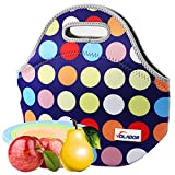 Volador Neoprene Insulated Lunch Bag Waterproof Personalized Insulated Lunch Bags Picnic Lunch Food Handbag (Baby Product)