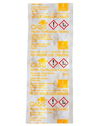 OASIS Water Purification (50) Tablets 2