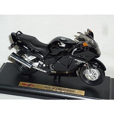 Honda Cbr1100xx Cbr1100 Cbr 1100 Xx 1100xx Schwarz Mit Sockel 1/18 Maisto Modellmotorrad Modell Motorrad by Maisto