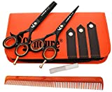 Friseurscheren - Haarscheren - Effilierschere Set 5.5""