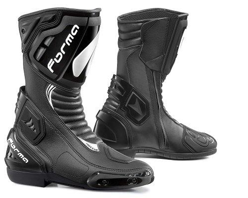 Stivali Moto Forma Modello Racing Freccia Black