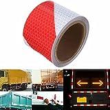 KING DO WAY 3M Rot Weiß Twill Reflektierende band Selbstklebende Sicherheit Warnung Conspicuity Nacht Reflektor Streifen Tape Film Aufkleber