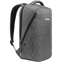 "Incase CL55589 13"" Mochila Negro, Gris maletines para portátil - Funda (33 cm (13""), Mochila, Negro, Gris, Monótono, 273,1 mm, 165,1 mm)"
