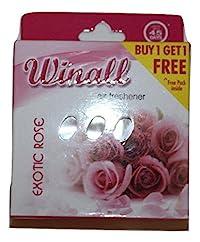 Winall Air Freshener 50gms Excotic Rose buy 4 get 4 free