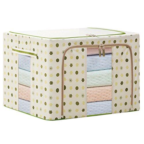 Dexinx Koffer Organizer Taschen Reise Kleidertaschen Packing Cubes für Kleidung Tragbar Steppdecke Organizer Tasche Grün1 55L