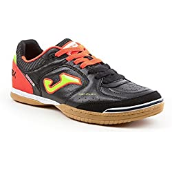 Joma Top Flex 701 Nera/Arancio Indoor Sala - Scarpe Calccetto Uomo - Men's Futsal Shoes - TOPS.701.IN (42)
