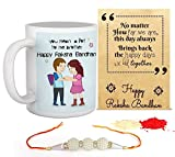 World's Best Bro Printed Gifts Combo For Rakesha Bandhan Best Quality Ceramic Mug Perfect Gifts for your Bather's